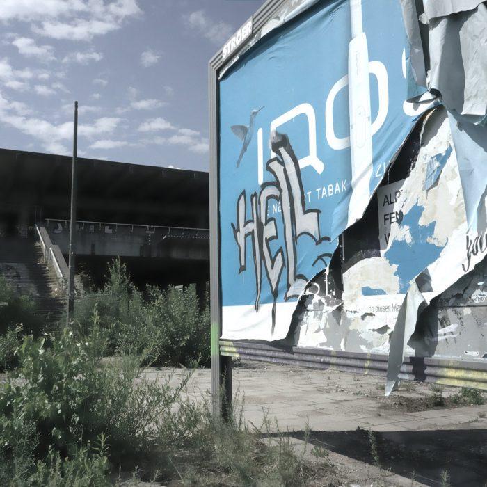 Plakatwand - Station Olymiapark 2017
