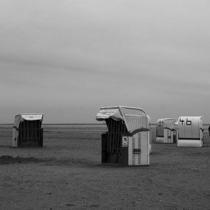Strandkörbe - Norddeich 2019