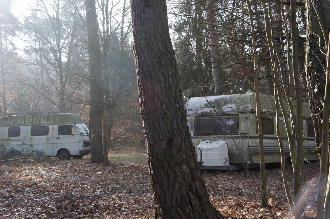 Verlassener Campingplatz bei Babenhausen